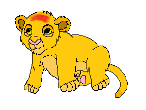 Baby Lion by airbornewife71
