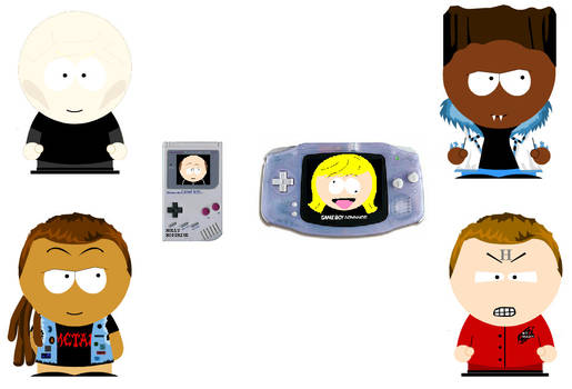 Red dwarf southpark Crossover