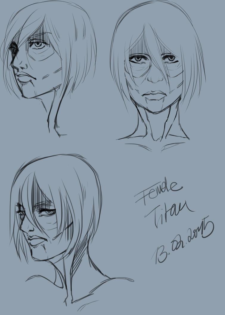 Female Titan by Drawer1000