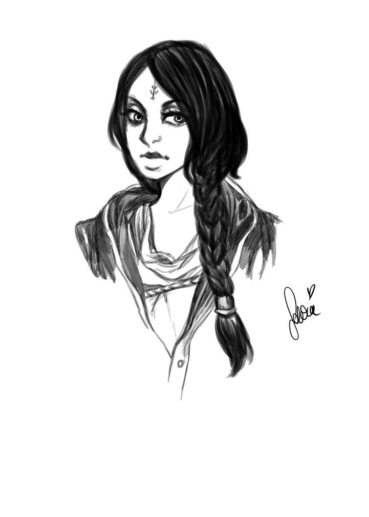 Amita Far Cry 4 sketch :) by Drawer1000