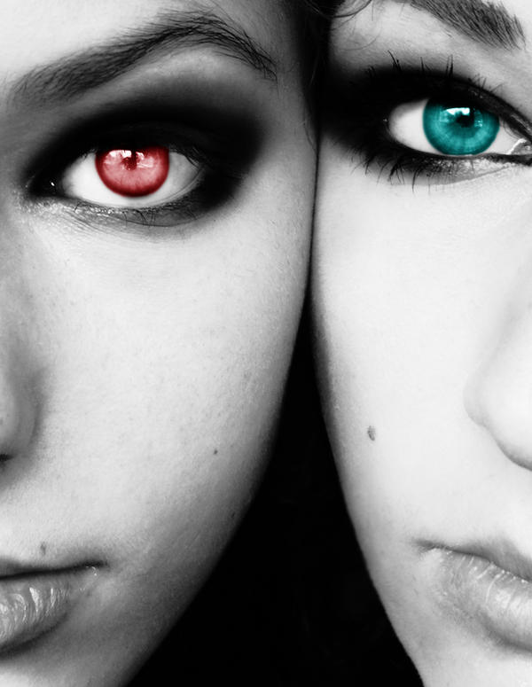Chemical Eyes by junkyshtan