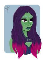 Gamora by nauticalia