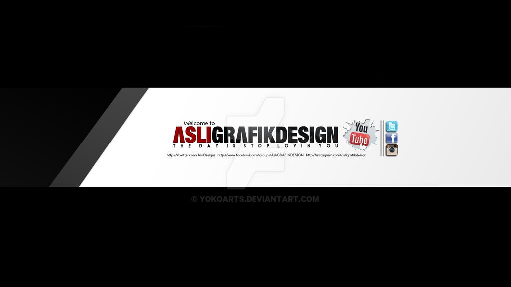 Youtube Banner - 7  Design by YokoArts on DeviantArt