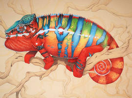 Commission - Plasma Chameleon