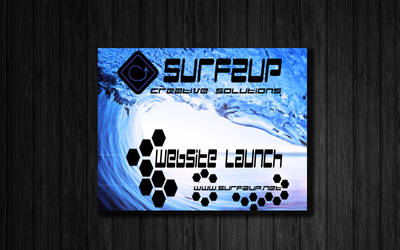 Surfzup Flyer by SURFZUP