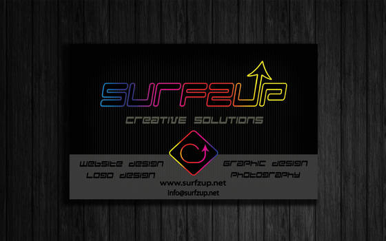 Surfzup Business Cards Front 1