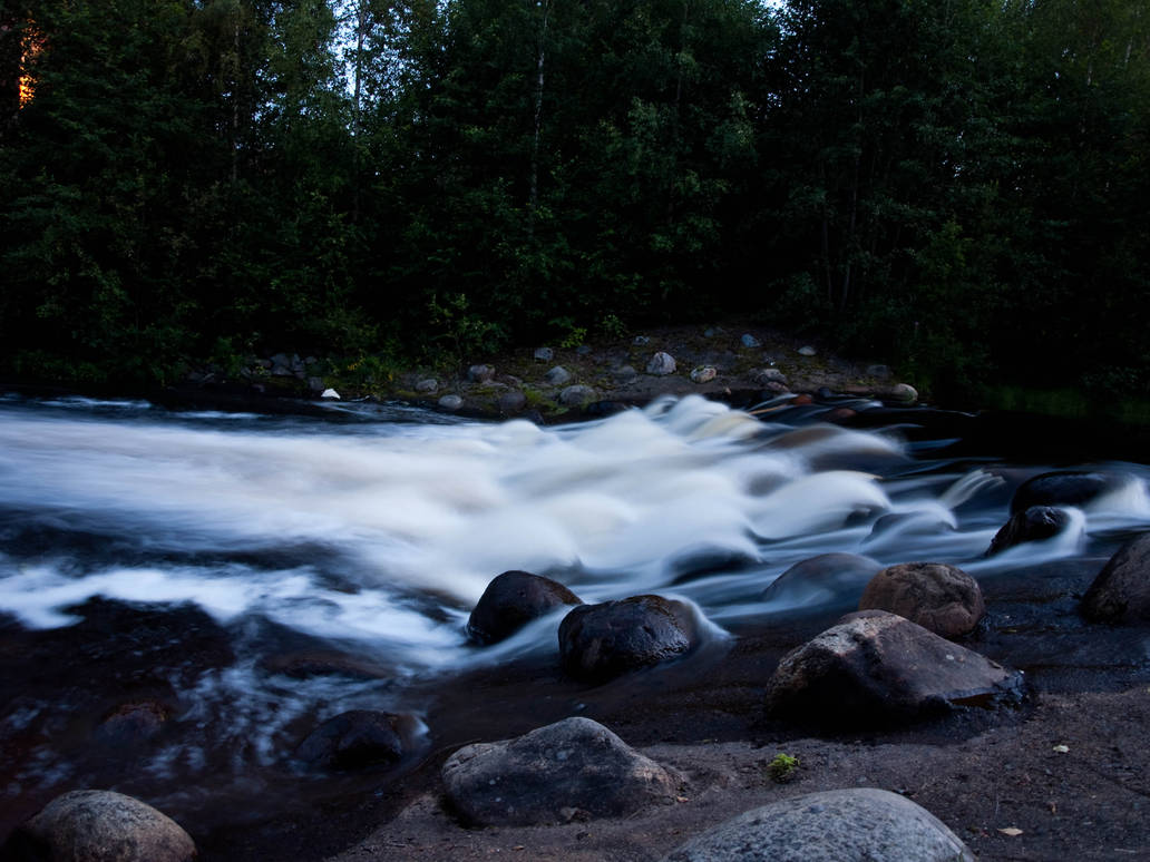 Twilight River by sandrability