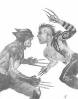 WolverineVsDaken by Dualspades