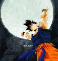 Goku by Dualspades