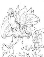 Goku by Walkonwater77 by Dualspades