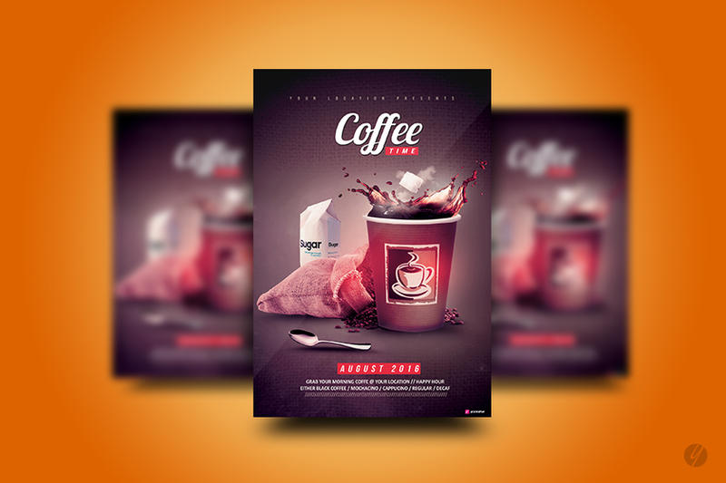 Coffee Time Flyer by YczCreative