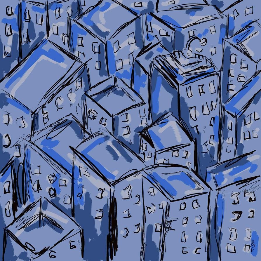 Blue City by Brianstumbaugh