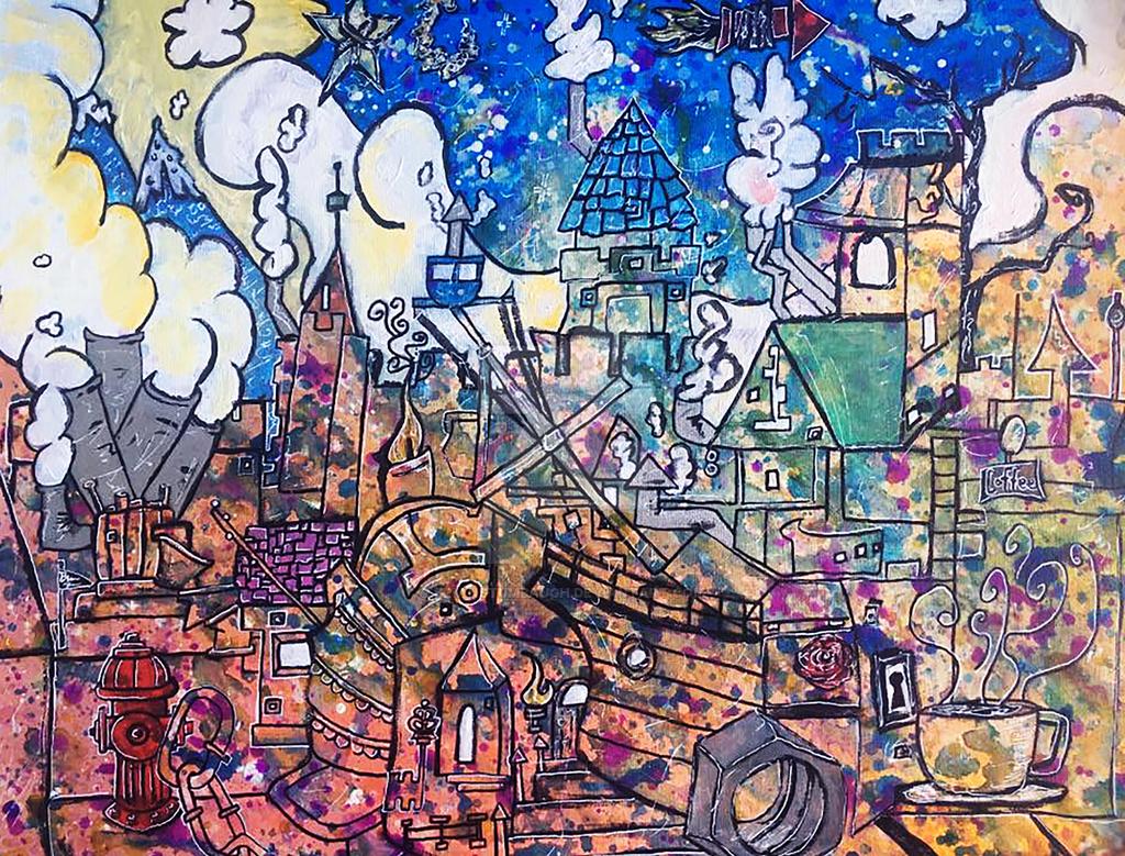 City Things by Brianstumbaugh