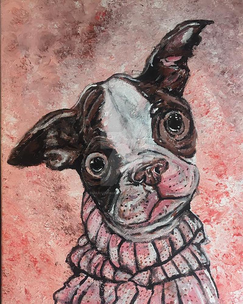 Puppy Portrait by Brianstumbaugh