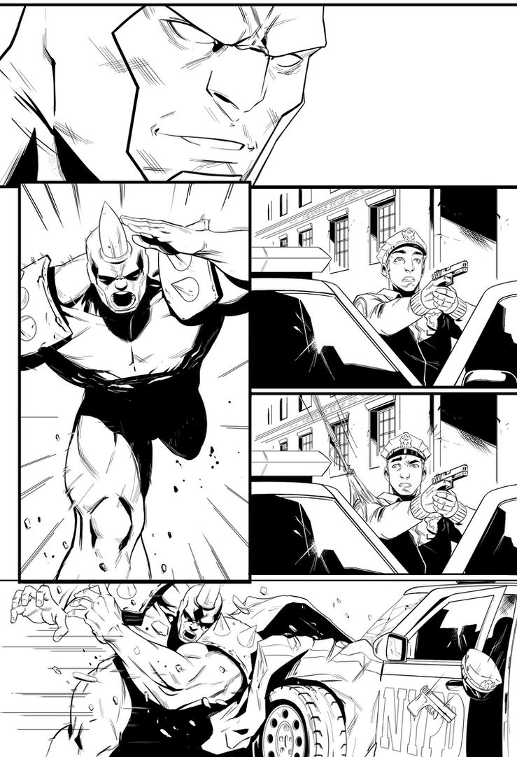 Spidermen Pg 4 by AngelTovar