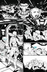 BubbleGun Issue 1 pg1 by AngelTovar