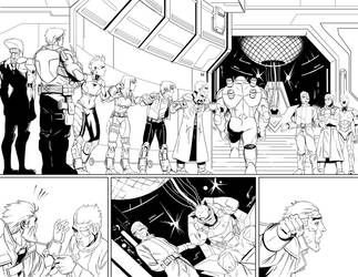 Issue 5 Page 2 and 3 by AngelTovar