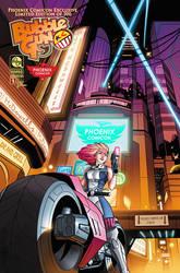 BubbleGun Phoenix ComiCon limited edition Cover. by AngelTovar