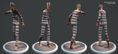 Zombie prisoner