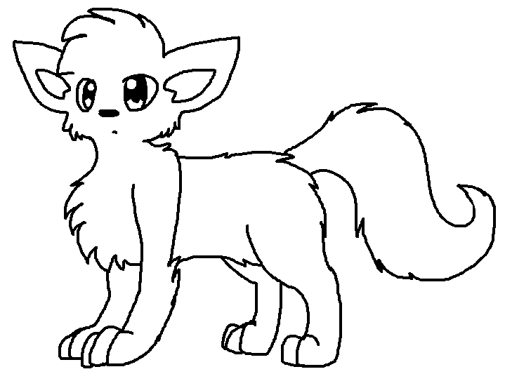 Warrior Cats With Wings Coloring Pages Sketch Coloring Page