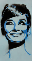 Audrey Hepburn by lityo