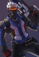 Soldier 76 by KiwiPanic
