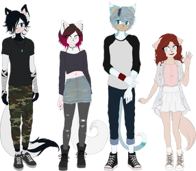 oc lineup (to be updated) by Aritasum