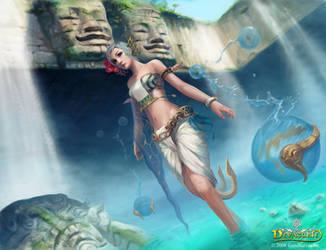 Devacurse::Aqua-Nymph by zionenciel