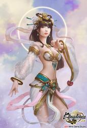 Zhi Nu  Goddess of Weaving by zionenciel