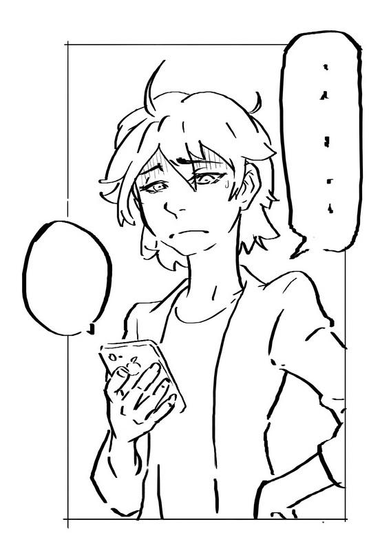 Daily sketch by zionenciel