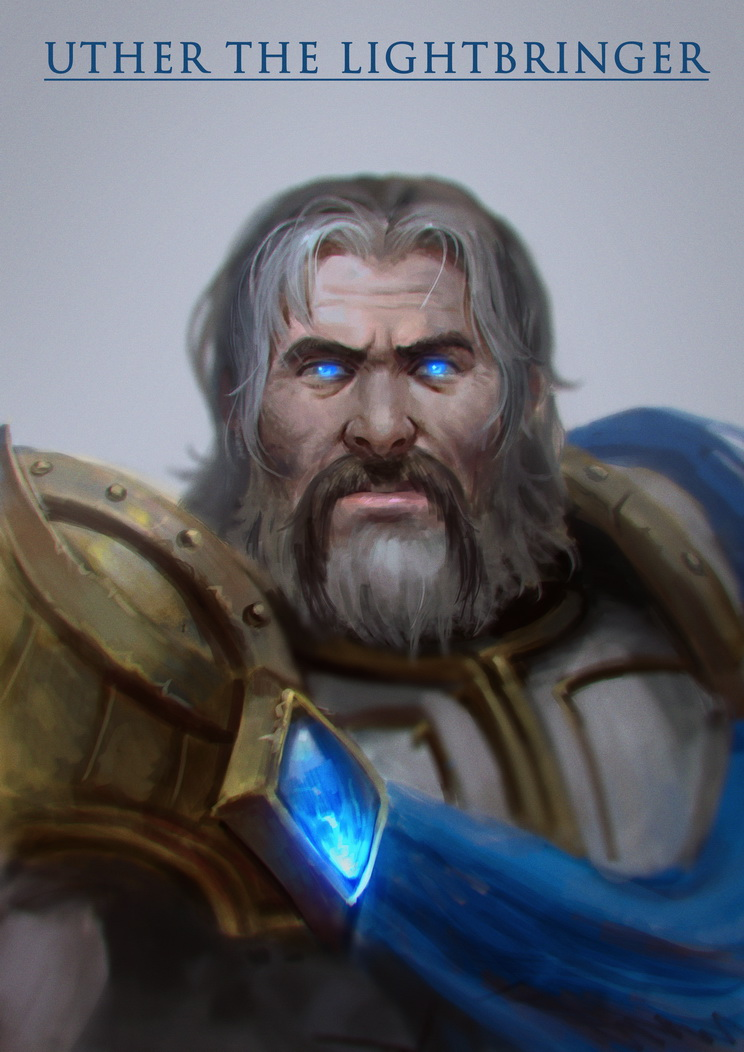 Uther the Lightbringer by zionenciel