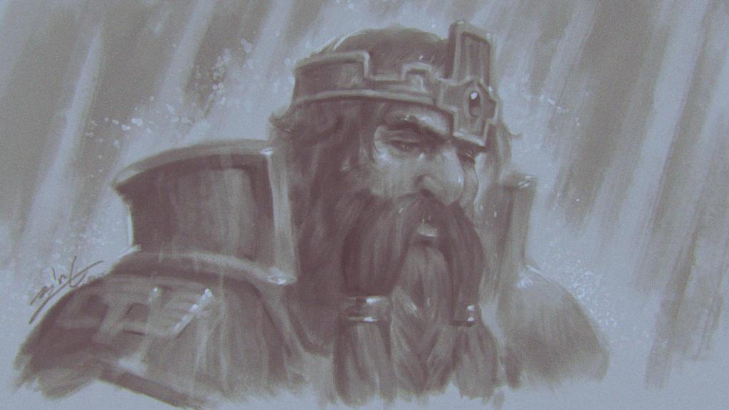 Sad king by zionenciel