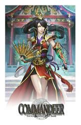 Commission: Mei Lingfang Martial Goddess by zionenciel