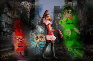 Creepy Powerpuff Girls