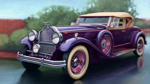 Packard Deluxe Eight 1931 by sergeo-art