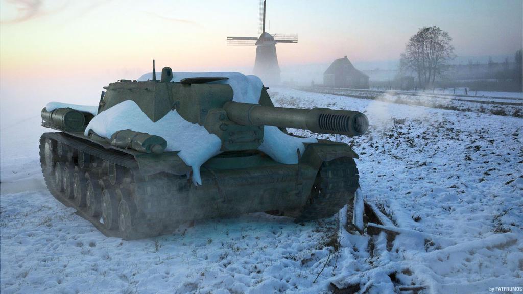 SU-152 by FAT-FRUMOS