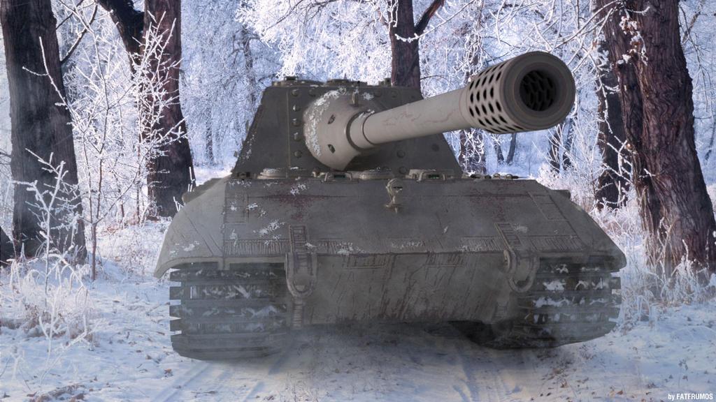Jgdpanzer E100 by FAT-FRUMOS