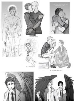 Dean x Castiel dump part 2 -SPN-