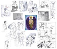 DeanCas sketchessss by EspadaDina