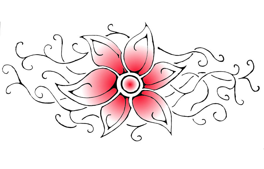 Tribal flower design by aeroblade88 on deviantart tribal flower design by aeroblade88 altavistaventures Images