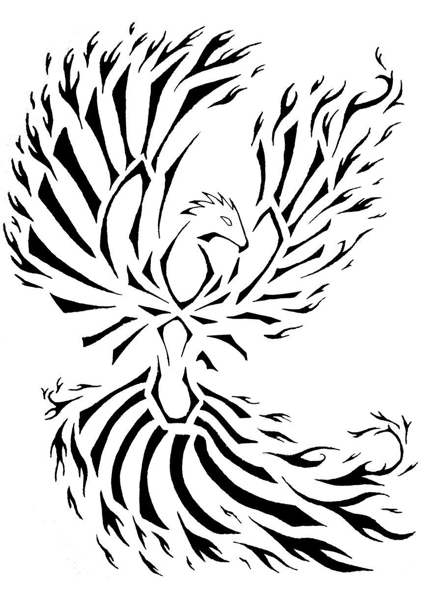 Tribal Phoenix 2 by