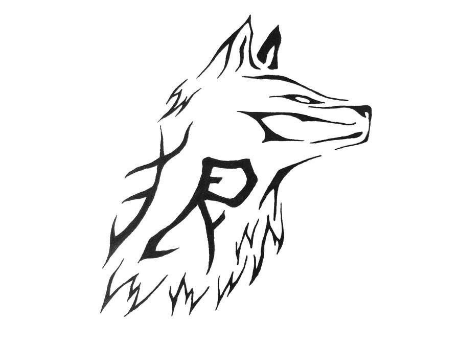 Wolves Tribal Tattoo Designs