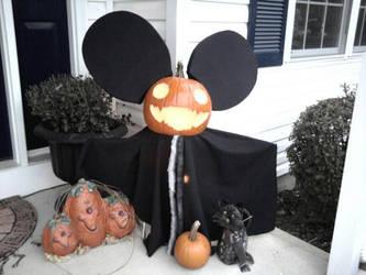 Deadmau5 pumpkin 2 by aeroblade88