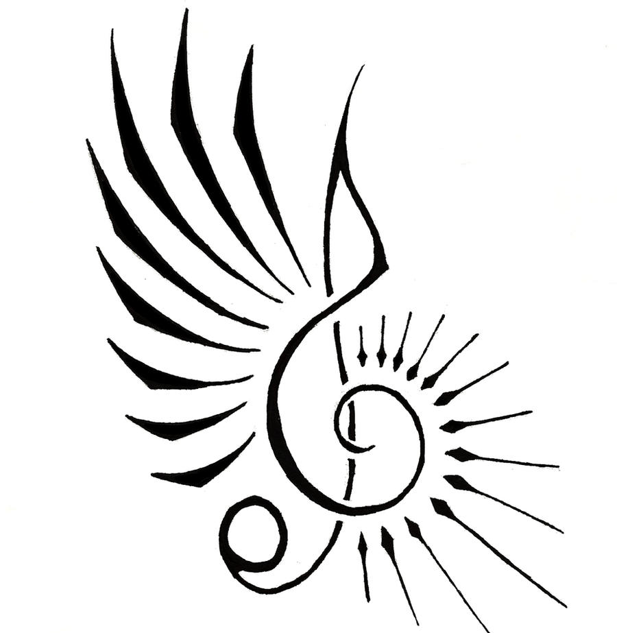 music note by aeroblade88 on deviantart