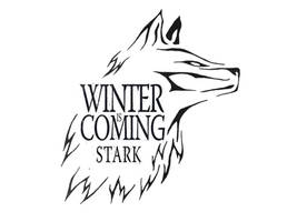 Winter is Coming Tribal Wolf