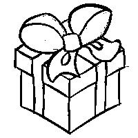 Christmas Present (LineArt) (F2U)