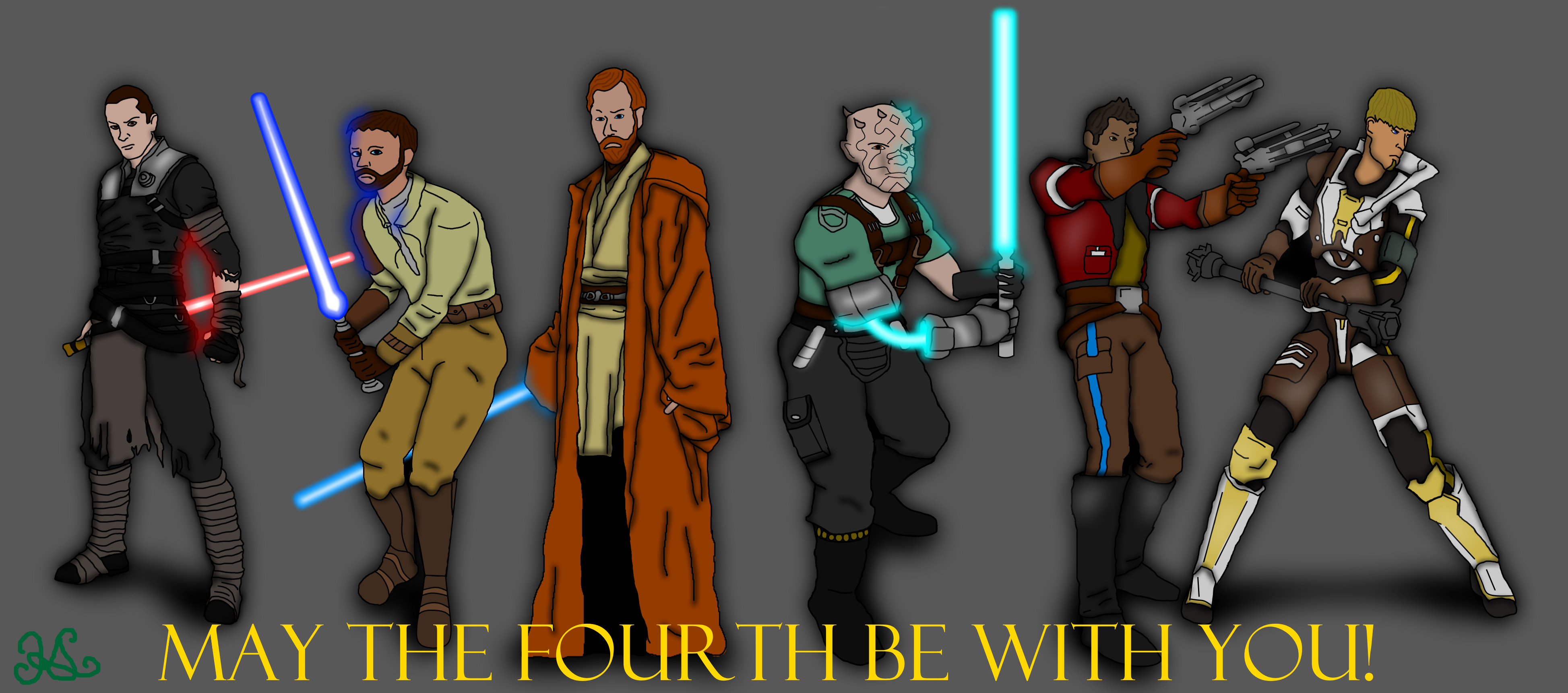 Epic Men Of Star Wars By Kalmastari On Deviantart