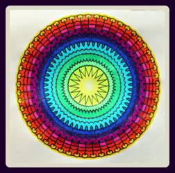 #30 Mandala Challenge final picture!