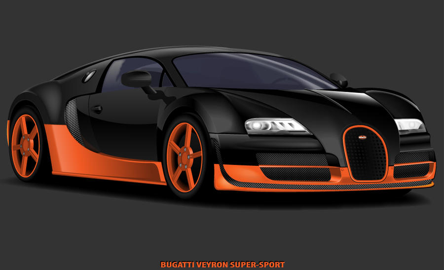 bugatti veyron super sport by johnnyinternets on deviantart. Black Bedroom Furniture Sets. Home Design Ideas