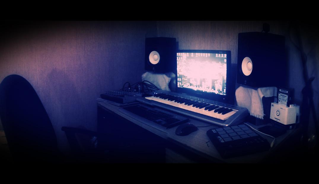 Patricks Home Music Studio By Zebrapoe